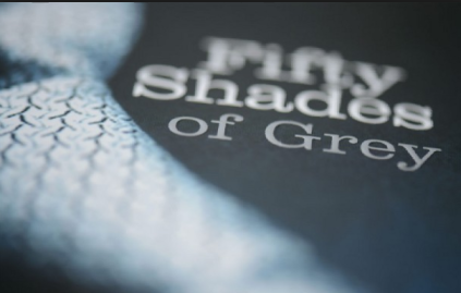blurry image of 50 shades bk cover