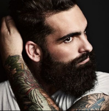 beard and tats guy