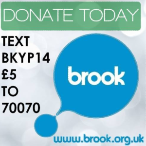 Brook donate button